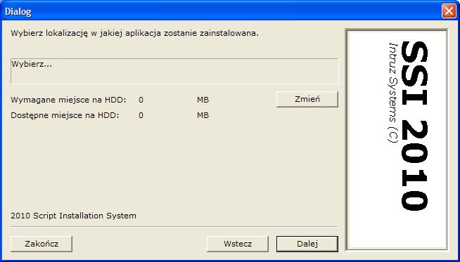Skryptowy System Instalacyjny - moduł SFX